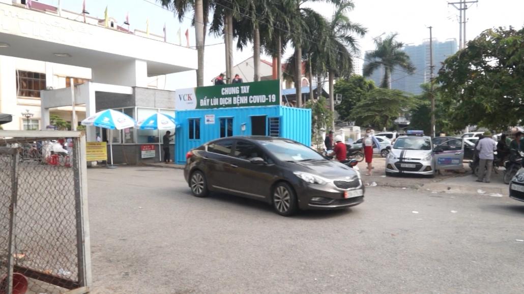 Bệnh viện A Thái Nguyên tiếp nhận nhà Container phòng dịch Covid-19