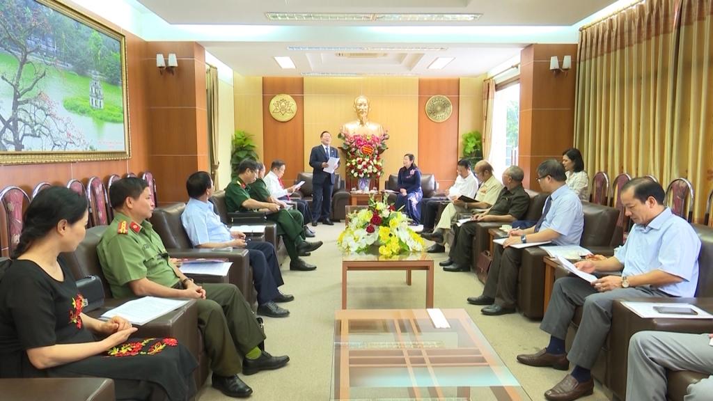 Đẩy mạnh các hoạt động Hữu nghị, Hợp tác Việt - Lào