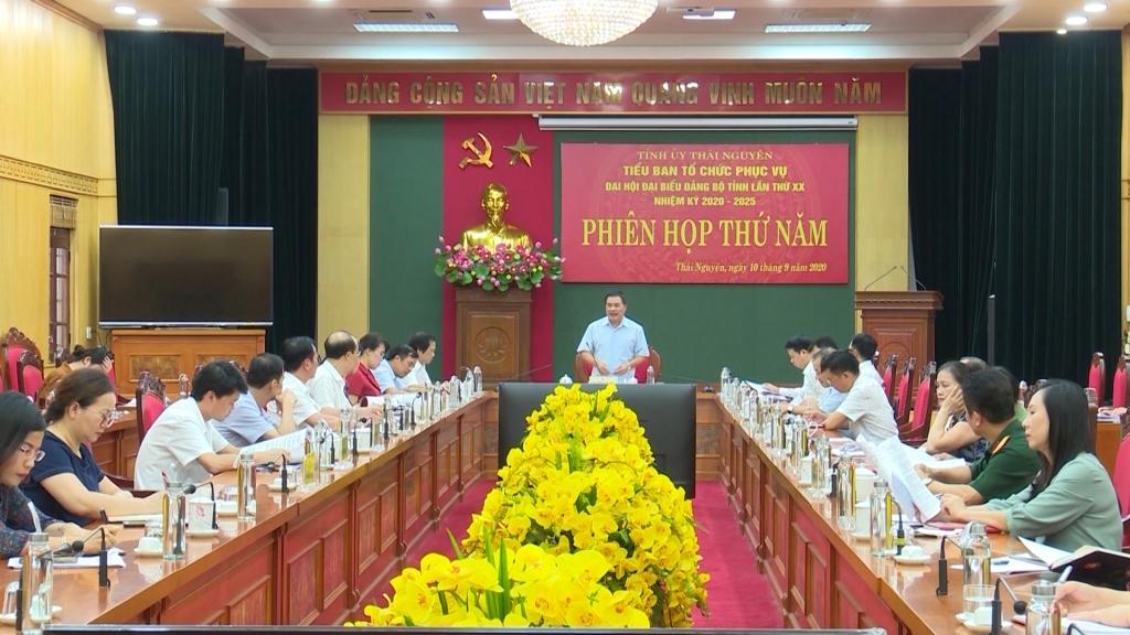 Tập trung chuẩn bị tốt các điều kiện phục vụ tổ chức Đại hội Đảng