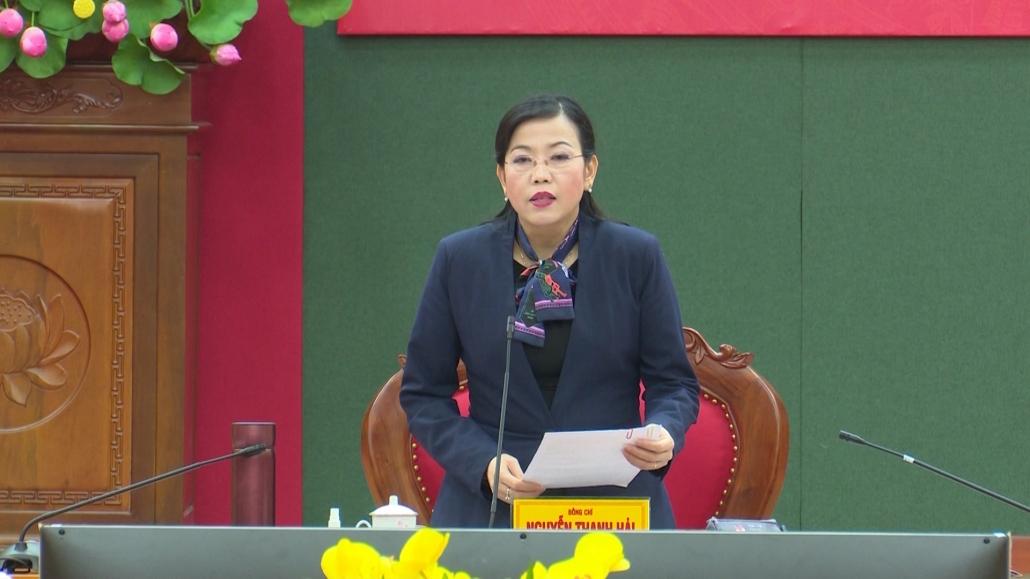 Hội nghị Ban Thường vụ Tỉnh ủy lần thứ 7, khóa 20