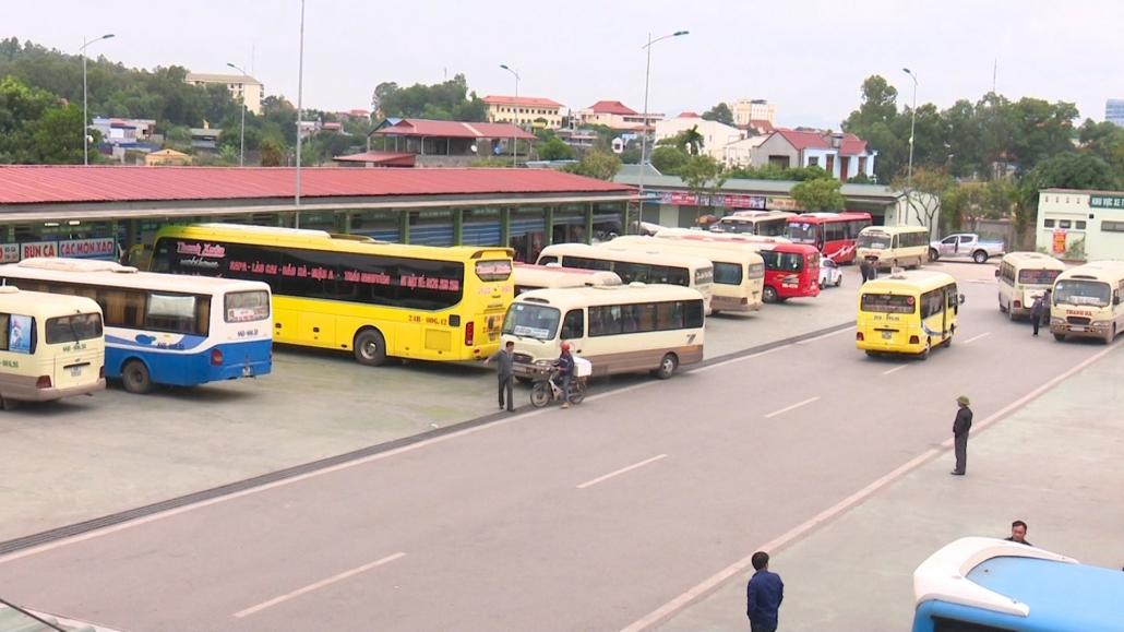 Ngành vận tải Thái Nguyên phục hồi và tăng trưởng mạnh