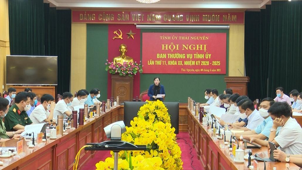 Hội nghị Ban Thường vụ tỉnh ủy lần thứ 11, khóa XX, nhiệm kỳ 2020-2025