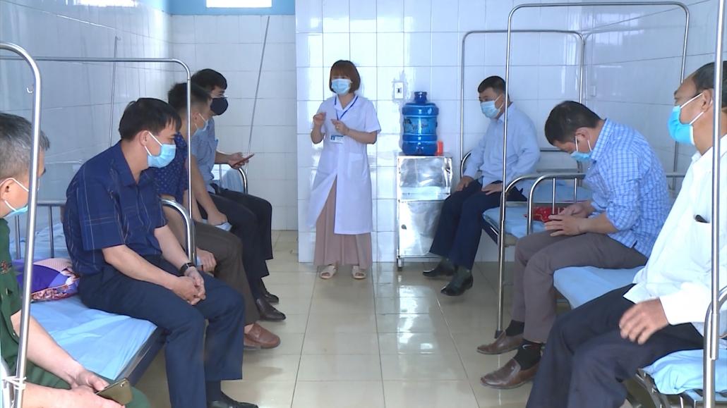 Thái Nguyên: Trên 12.000 người được tiêm phòng COVID-19 an toàn