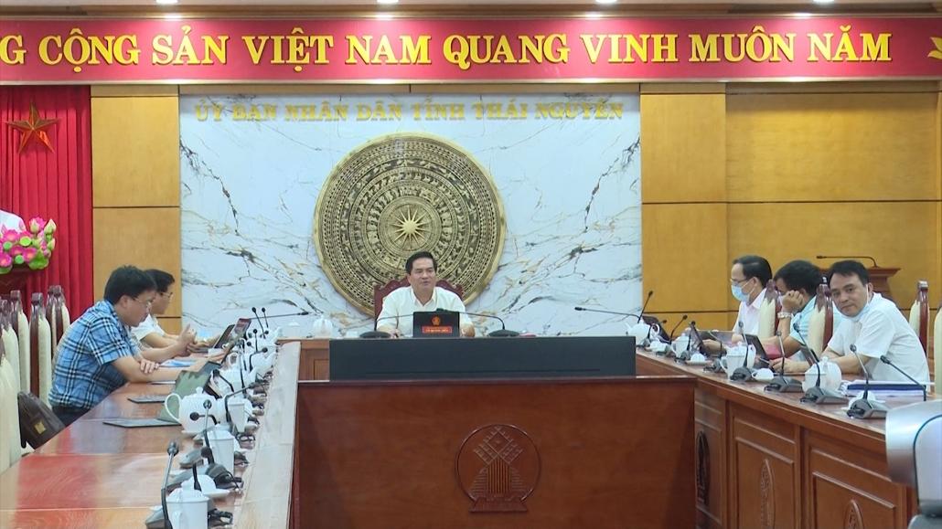 Đánh giá tiến độ lập Quy hoạch tỉnh Thái Nguyên