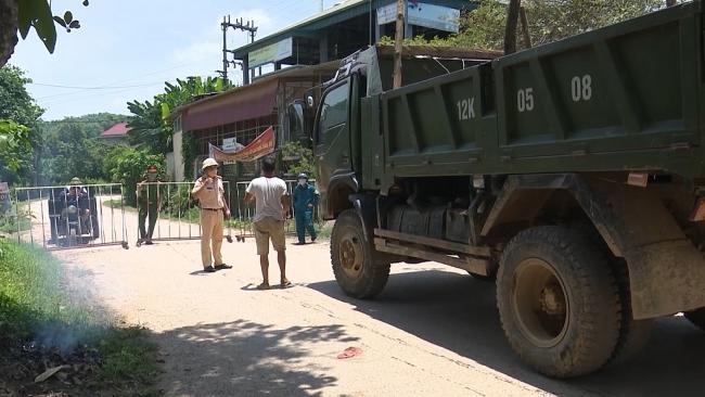 Các địa phương trên địa bàn tỉnh tăng cường các biện pháp cấp bách phòng chống dịch