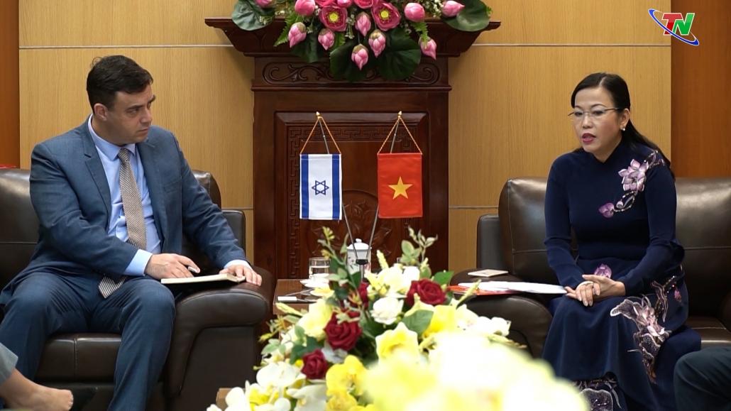 Tăng cường hợp tác giữa Israel và tỉnh Thái Nguyên