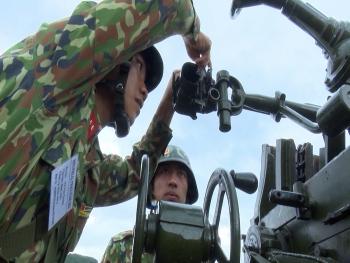 Diễn tập chiến thuật, hội thi bắn đạn thật lực lượng phòng không lục quân, phòng không kiêm nhiệm khu vực phía Bắc