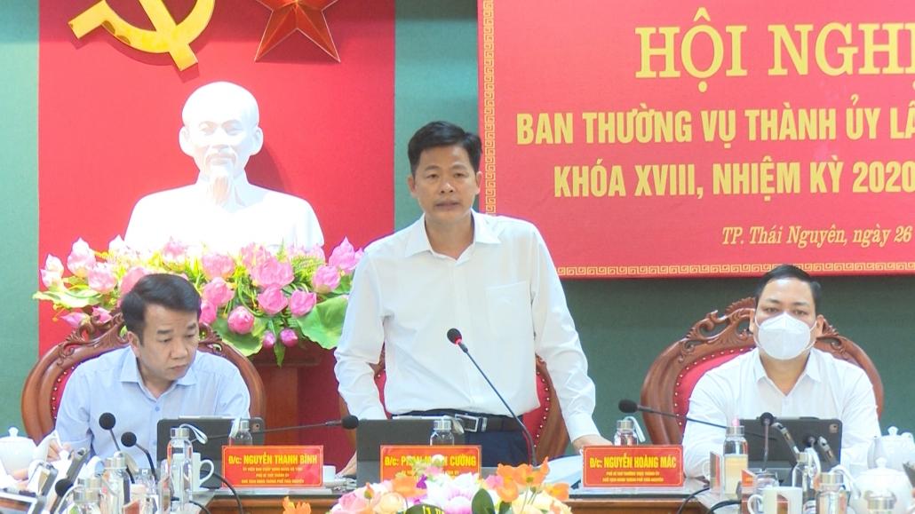 Hội nghị Ban Thường vụ Thành ủy Thái Nguyên lần thứ 30, khóa XVIII